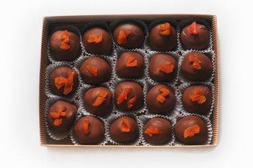 """Шоколадные конфеты ручной работы """"Манго"""" 100 гр."""