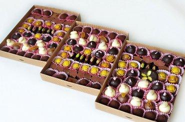 Шоколадное ассорти (от 14 конфет)