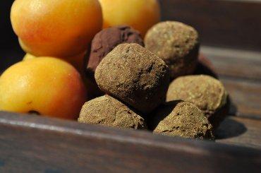 """Шоколадные трюфели """"Абрикос и Курага"""" 100гр."""